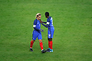 Antoine Griezmann (FRA) greated Blaise Matuidi (FRA) during the 2017 Friendly Game football match between France and Wales on November 10, 2017 at Stade de France in Saint-Denis, France - Photo Stephane Allaman / ProSportsImages / DPPI