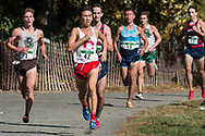 New York, New York  - Runners compete in the Ivy League Heptagonal men<br /> s cross country championship meet at Van Cortlandt Park in the Bronx on Oct. 26, 2017.