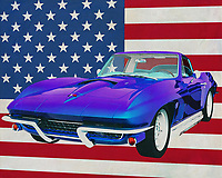 The 1967 Chevrolet Corvette Stingray 427 is the dream sports car of many boys and girls. With this model, Chevrolet has taken its place alongside German and Italian sports cars. The powerful engine of the Chevrolet Corvette has a legendary sound. Even when it is many miles away you can hear it. Many people go outside to get a glimpse of this beautiful sports car;<br />