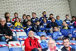 Supporters of Bravo during football match between NK Bravo and NK Olimpija in 36th Round of Prva liga Telekom Slovenije 2020/21, on May 22, 2021 in Sportni park ZAK, Ljubljana, Slovenia. Photo by Vid Ponikvar / Sportida