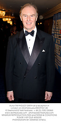 Actor TIM PIGGOT-SMITH at a reception in London on 23rd February 2003.PHK 145