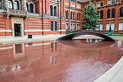 Madejeski Garden<br /> Crest by Zaha Hadid commissioned by<br /> Meliã Hotels International <br /> . The London Design Festival at the V&A, South Kensington, London 12 Sept 2014. Guy Bell, 07771 786236, guy@gbphotos.com