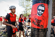 SHOT 6/10/17 11:20:50 AM - Doug Pensinger Memorial Road Ride 2017. The 52 mile ride which took place on the one year anniversary of the passing of Getty Images photographer Doug Pensinger featured more than 30 riders many of whom had ridden with Doug in the past.  (Photo by Marc Piscotty / © 2017)