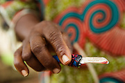 Photo illustration representing a knife used to perform genital mutilation on girls in the town of Katiola, Cote d'Ivoire on Saturday July 13, 2013.