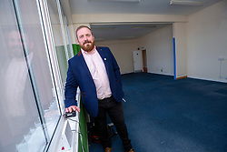 16JUN21  Derek Mawhinney. He got sacked from his first job at 17 after a week. He's now returned to the building after buying it and is going to revamp it. Pic at Dunsinane House, Block 24 Kilspindie Road, Dunsinane Industrial Estate, Dundee