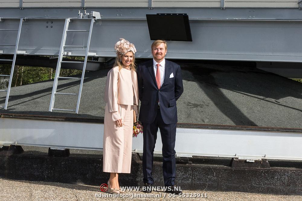 NLD/Hoogeveen/20190918 - Koningspaar brengt bezoek Zuid-west Drenthe,