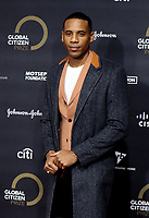 Reggie Yates  at the Global Citizen Prize at the Royal Albert Hall in London 12th dec 2019 Photo by Cat morley