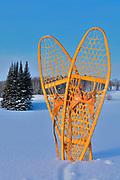 Snowshoes <br />Ear Falls<br />Ontario<br />Canada