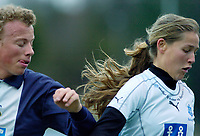 Reidun Nilsen, Asker. Asker spiller i gutteserie i tillegg til 1. divisjon kvinner for å få god nok matching. G16 1. divisjon - avd. 1. Asker - Ready 3-3. 28. april 2006. (Foto: Peter Tubaas/Digitalsport)