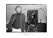 Brian Jones and Keith Richards of The Rolling Stones at Dublin Airport.<br />
