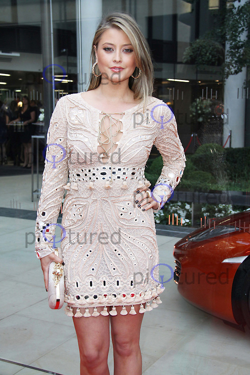 Holly Valance VIP party celebrating the opening of McLaren's flagship London showroom. One Hyde Park, Knightsbridge, London, UK, 21 June 2011:  Contact: Rich@Piqtured.com +44(0)7941 079620 (Picture by Richard Goldschmidt)