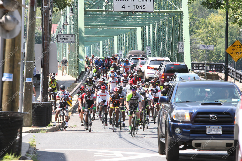 NEWARK, NEW JERSEY - AUGUST 13: Major Taylor Cycling Club Of New Jersey's 40th Annual Newark To New Hope Ride in Newark, New Jersey on August 13, 2017.  (© Brian Branch Price)
