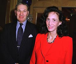SIR DENNIS & LADY LANDAU at a luncheon in London on 11th December 1997.<br /> MEF 7