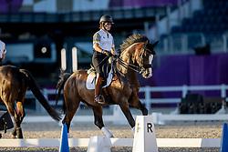 Pauluis Larissa, BEL, Flambeau<br /> Olympic Games Tokyo 2021<br /> © Hippo Foto - Dirk Caremans<br /> 18/07/2021