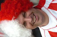 Photo: Tony Oudot.<br /> Queens Park Rangers v Stoke City. Coca Cola Championship. 06/05/2007.<br /> A Stoke City fan