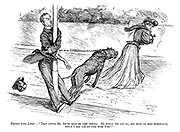 """Extract from Letter: - """"That little Mr. Smith must be VERY strong. He would NOT let go, and hung on MOST heroically, while I ran for my life with Fido!"""""""