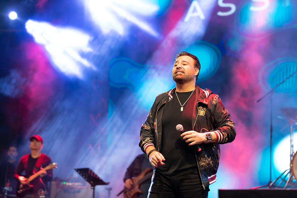Assi El Hallani live in Dubai, DSF 2020