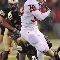 Oct 23, 2009; West Point, N.Y., USA; Rutgers running back Joe Martinek (38) runs during Rutgers' 27 - 10 victory over Army at Michie Stadium.