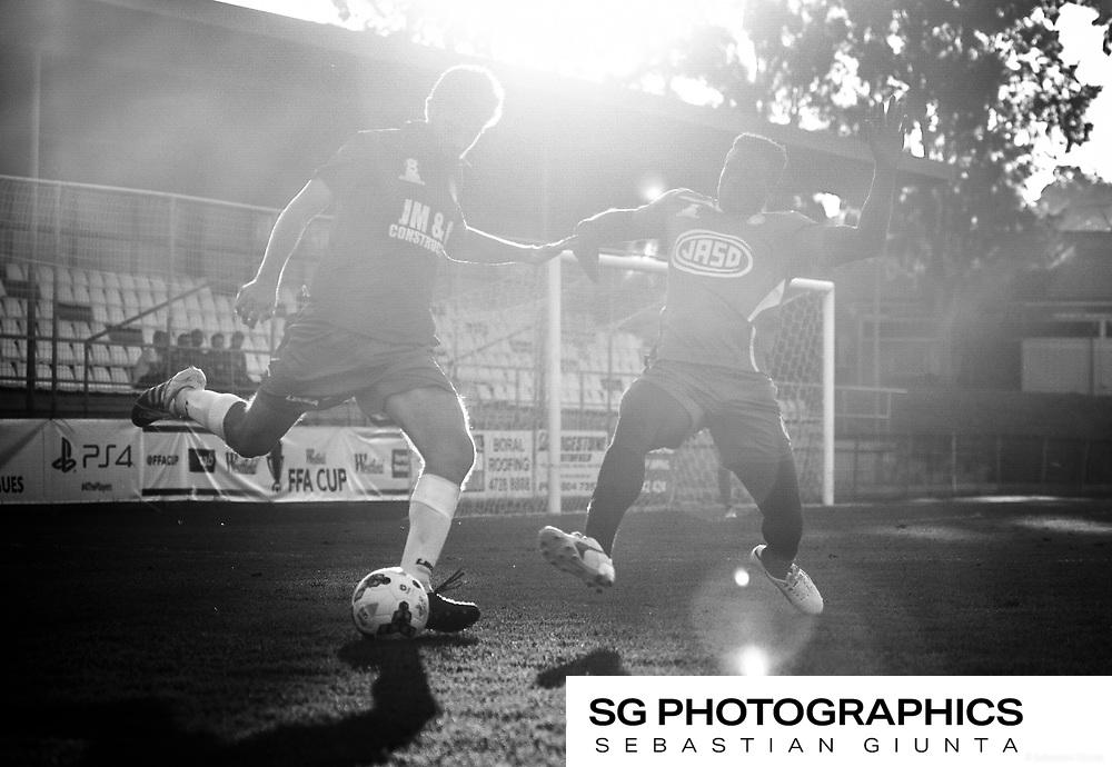Round 1 U20's season 2017. White Eagles 1 vs Sydney Olympic 3. Played at Bonnyrigg. 5pm KO