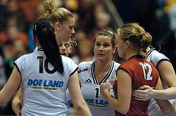 27-02-2005;VOLLEYBAL;FINAL 4 BEKER;LONGA 59-AMVJ;AMSTELVEEN<br /> <br /> Longa wint opnieuw de beker. AMVJ werd in de finale met 3-2 verslagen - <br /> <br /> ©2005-WWW.FOTOHOOGENDOORN.NL