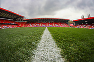 A general view inside The Valley Stadium during the EFL Sky Bet League 1 match between Charlton Athletic and Bristol Rovers at The Valley, London, England on 24 November 2018.