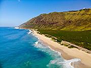Keawaula Beach, Yokohama Bay, Waianae, Leeward, Oahu, Hawaii