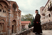 GREECE, HISTORIC SITES Osios Loukas; the Byzantine Monastery of St. Luke also called Osios Loukas founded in 961 A.D.