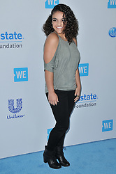 Laurie Hernandez arrives at We Day California 2017 held at The Forum in Inglewood, CA on Thursday, April 27, 2017. (Photo By Sthanlee B. Mirador) *** Please Use Credit from Credit Field ***