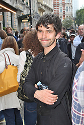 © London News Pictures. 18/06/2013. London, UK. Ben Whishaw at The Cripple of Inishmaan - Press Night. Photo credit: Brett D. Cove/LNP