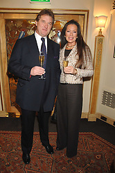BERNARD THEOBALD and actress LORRAINE CHASE at a tribute lunch for Elaine Paige hosted by the Lady Taverners at The Dorchester, Park Lane, London on 13th November 2007.<br /><br />NON EXCLUSIVE - WORLD RIGHTS