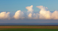 Simple cloudscape along the south coast of Iceland