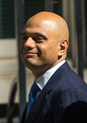 Downing Street, London, May 12th 2015. The all-conservatives Cabinet ministers gather for their first official meeting at Downing Street. PICTURED: Secretary of State for Business, Innovation and Skills Sajid Javid