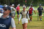Nelly Korda (USA) heads for the tee on 2 during round 2 of the 2019 US Women's Open, Charleston Country Club, Charleston, South Carolina,  USA. 5/31/2019.<br /> Picture: Golffile | Ken Murray<br /> <br /> All photo usage must carry mandatory copyright credit (© Golffile | Ken Murray)