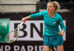 May 13, 2019 - Rome, ITALY - Katerina Siniakova of the Czech Republic in action during her first-round match at the 2019 Internazionali BNL d'Italia WTA Premier 5 tennis tournament (Credit Image: © AFP7 via ZUMA Wire)