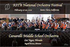ASTA 2010 National Orchestra Festival Invited Performing Groups