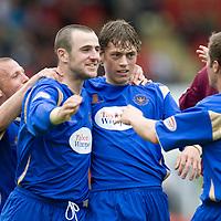 St Johnstone FC August 2009