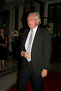 LORD HESELTINE, The Spectator 180th Anniversary party, at the Churchill Hotel, London, 7 May 2008.  *** Local Caption *** -DO NOT ARCHIVE-© Copyright Photograph by Dafydd Jones. 248 Clapham Rd. London SW9 0PZ. Tel 0207 820 0771. www.dafjones.com.