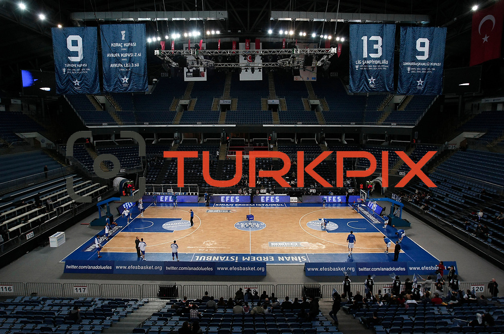 Anadolu Efes's and Turk Telekom's during their Turkish Basketball League match Anadolu Efes between Turk Telekom at Arena in Istanbul, Turkey, Wednesday, January 04, 2012. Photo by TURKPIX