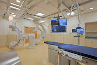 Carroll Hospital Center Catheterization Lab interior images built by Bovis Lend Lease