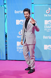 November 4, 2018 - Madrid, Madrid, Spain - DDiego Luna attends the 25th MTV EMAs 2018 held at Bilbao Exhibition Centre 'BEC' on November 4, 2018 in Madrid, Spain (Credit Image: © Jack Abuin/ZUMA Wire)