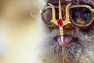 A Hindu devotee, Tamil Nadu, India.