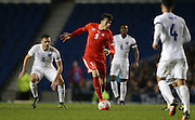 Haris Tabakovic, Swiss U21 International during the UEFA European Championship Under 21 2017 Qualifier match between England and Switzerland at the American Express Community Stadium, Brighton and Hove, England on 16 November 2015.