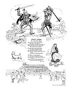County Songs. XV.—The Two Roses. (Illustrated poem)