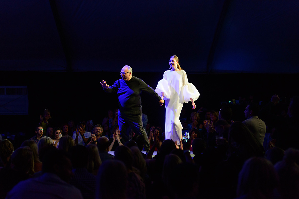 2019 Fashion Week El Paseo, in Palm Desert, California. Designer Roger Canamar shows his latest collection.  Photos by Tiffany L. Clark