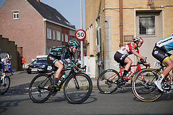 Sophie Wright (GBR) at Gent Wevelgem - Elite Women 2019, a 136.9 km road race from Ieper to Wevelgem, Belgium on March 31, 2019. Photo by Sean Robinson/velofocus.com