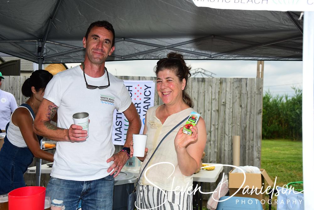 Mastic Beach Conservancy Fair at Maura Spery's house.