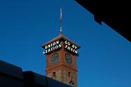 Union Station är det gamla namnet på tågstationen i Seattle som nu kallas Kind Street Station. <br /> <br /> Foto: Christina Sjögren