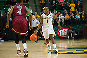WACO, TX - DECEMBER 17: Kenny Chery #1 of the Baylor Bears brings the ball up court the New Mexico State Aggies on December 17, 2014 at the Ferrell Center in Waco, Texas.  (Photo by Cooper Neill/Getty Images) *** Local Caption *** Kenny Chery