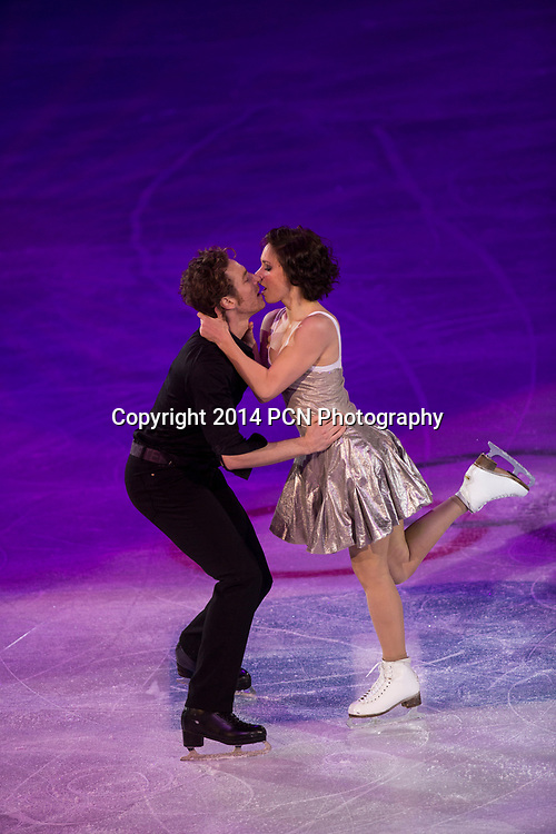 Nathalie Pechalat and Fabian Bourzat   (FRA) performing in the Figure Skating Gala Exhibition at the Olympic Winter Games, Sochi 2014