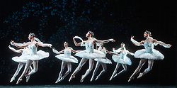La Bayadere <br /> A ballet in three acts <br /> Choreography by Natalia Makarova <br /> After Marius Petipa <br /> The Royal Ballet <br /> At The Royal Opera House, Covent Garden, London, Great Britain <br /> General Rehearsal <br /> 30th October 2018 <br /> <br /> STRICT EMBARGO ON PICTURES UNTIL 2230HRS ON THURSDAY 1ST NOVEMBER 2018 <br /> <br /> The Shades <br /> <br /> <br /> Photograph by Elliott Franks Royal Ballet's Live Cinema Season - La Bayadere is being screened in cinemas around the world on Tuesday 13th November 2018 <br /> --------------------------------------------------------------------